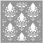 Creative Expressions - Stencil (6x6) - Damask