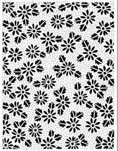 "Sue Wilson Designs - 5.5"" x 7.25"" Embossing Folder - Dotted Daisies"
