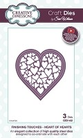 Sue Wilson Designs - Die - Finishing Touches - Heart of Hearts
