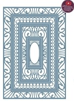 Sue Wilson Designs - Die - Indian Ocean Collection - Background