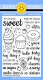 Sunny Studio - Clear Stamp - Sweet Shoppe