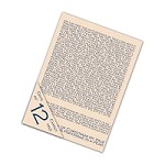 "*PRE-ORDER* Tattered Lace - Embossing Folder Set - 12 Days of Christmas (set of 4) (7.75"")"