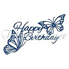 Tattered Lace - Dies - Butterfly Happy Birthday