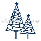 Tattered Lace - Dies - Pearl Christmas Trees