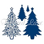 Tattered Lace - Dies - Essentials Decorative Detail Trees