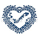 **PRE-ORDER** Tattered Lace - Dies - Celebrate Interlocking Heart