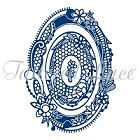 **PRE-ORDER** Tattered Lace - Dies - Royal Lace Oval 2