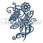 **PRE-ORDER** Tattered Lace - Dies - Dragonfly Flowers