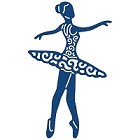 Tattered Lace - Dies - Spinning Charm Ballerina