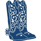 Tattered Lace - Dies - Cowboy Boots
