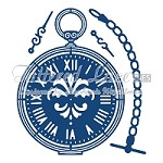 Tattered Lace - Dies - Pocket Watch