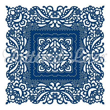 Tattered Lace - Dies - Ornamental Antique Lace Square