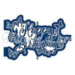 Tattered Lace - Dies - Ornamental Happy Birthday