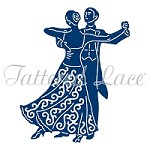 Tattered Lace - Dies - Ballroom Couple