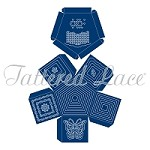 Tattered Lace - Dies - Essentials Pentagon Box (this die requires a large format machine)