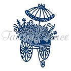 Tattered Lace - Dies - Flower Cart