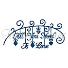 Tattered Lace - Dies - All You Need is Love
