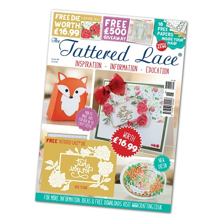 Tattered Lace - Tutorial Magazine & Die Kit - Issue 46