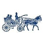 Tattered Lace - Dies - Horse and Carriage