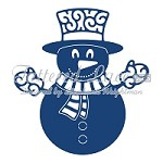 Tattered Lace - Dies - Snowman