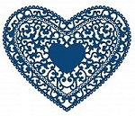Tattered Lace - Dies - Florentine Heart