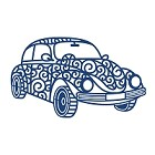 Tattered Lace - Dies - Retro Car