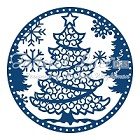 Tattered Lace - Dies - Snowglobe Christmas Tree