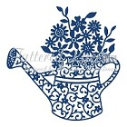 Tattered Lace - Dies - Floral Watering Can