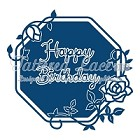 Tattered Lace - Dies - Happy Birthday Starlight Plaque