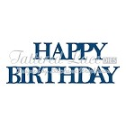 Tattered Lace - Dies - Happy Birthday Classic