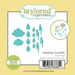 Taylored Expressions - Cutting Die - Little Bits Weather Confetti