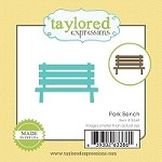 Taylored Expressions - Cutting Die - Little Bits Park Bench