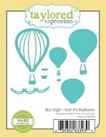 Taylored Expressions - Cutting Die - Sky High Hot Air Balloons