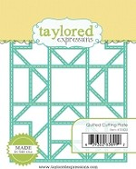 Taylored Expressions - Cutting Die - Quilted Cutting Plate