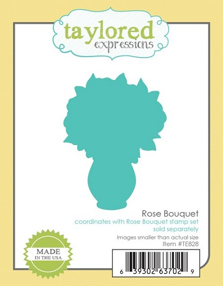 Taylored Expressions - Cutting Die -  Rose Bouquet Die