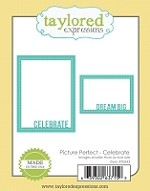 Taylored Expressions - Cutting Die - Picture Perfect Celebrate