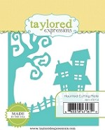 Taylored Expressions - Cutting Die - Haunted Cutting Plate