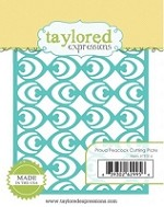 Taylored Expressions - Die - Proud Peacock Cutting Plate