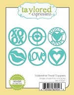 Taylored Expressions - Die - Valentine Treat Toppers