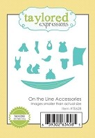 Taylored Expressions - Cutting Die - On The Line Accessories