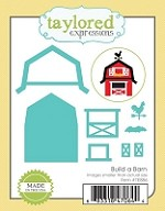Taylored Expressions - Cutting Die - Build a Barn