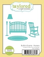 Taylored Expressions - Cutting Die - Build A Scene Nursery