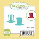 Taylored Expressions - Cutting Die - Little Bits Uncle Sam Hat