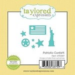 Taylored Expressions - Cutting Die - Little Bits Patriotic Confetti