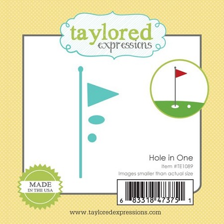 Taylored Expressions - Cutting Die - Little Bits Hole in One