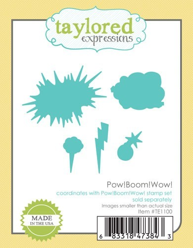 Taylored Expressions - Cutting Die - Pow! Boom! Wow!