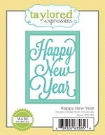 Taylored Expressions - Cutting Die - Happy New Year