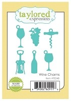 Taylored Expressions - Cutting Die - Wine Charms