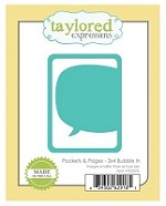Taylored Expressions - Cutting Die - Pockets & Pages - Bubble In
