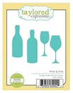 Taylored Expressions - Cutting Die - Wine & Dine